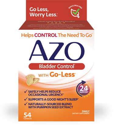 AZO Bladder Control with Pumpkin Seed