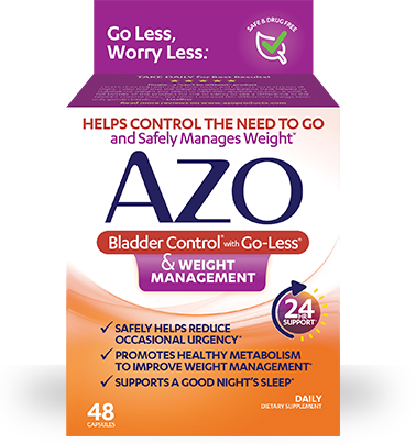 AZO Bladder Control And Weight Management