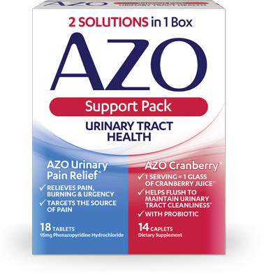 AZO Urinary Tract Supplements