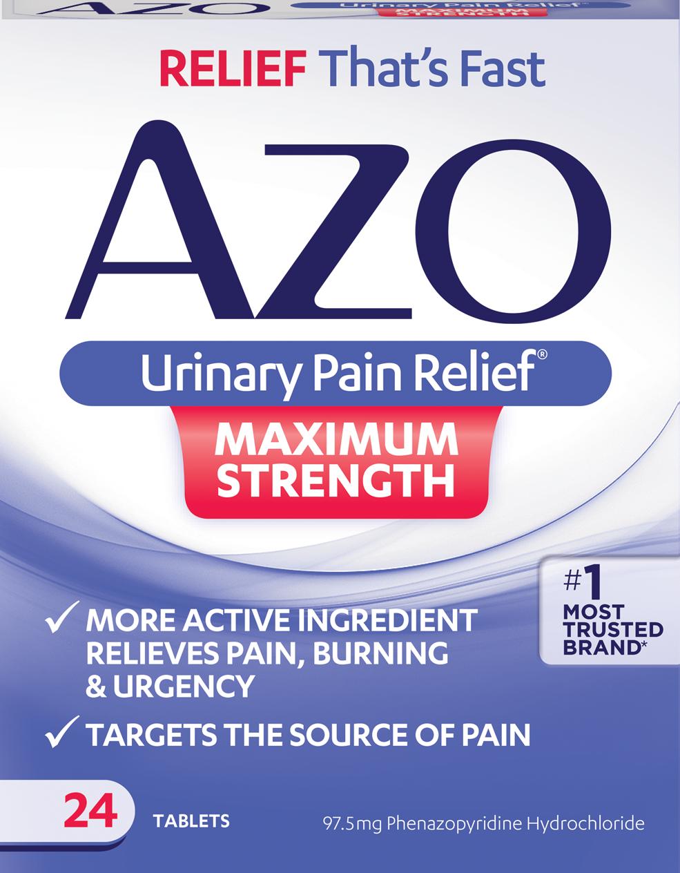 AZO Urinary Pain Relief Max Strength forecast