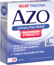 AZO UTI Relief Products
