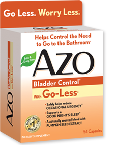 AZO Bladder Control Products
