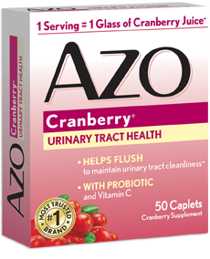 AZO Cranberry for Urinary Tract Infections