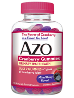 AZO Cranberry Gummies for UTI