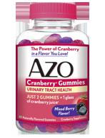 AZO Cranberry Gummies for UTI