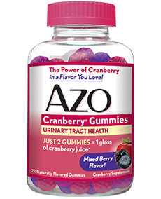 AZO Cranberry Gummies for Urinary Tract Health
