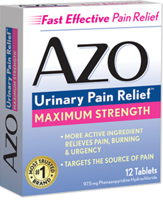 AZO Urinary Pain Relief Products