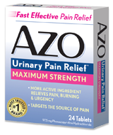 AZO UTI Pain Relief