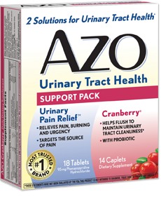 AZO Urinary Tract Support Pack