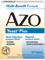 AZO Vaginal Infection Symptom Relief
