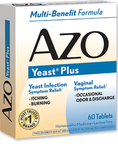 AZO Yeast Infection Symptom Relief